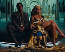 "Beyoncé and Jay-Z Release Surprise Joint Album Everything Is Love and ""Apes**t"" Video"