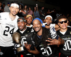Snoop Dogg & NBA Star Matt Barnes Co-Host Flag Football Fundraiser