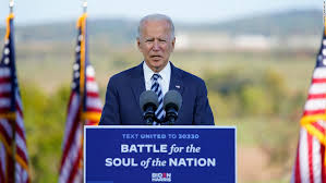 Biden says there shouldn't be a second debate if Trump still has Covid-19