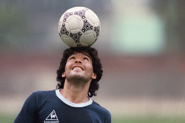 Diego Maradona, One of Soccer's Greatest Players, Is Dead at 60