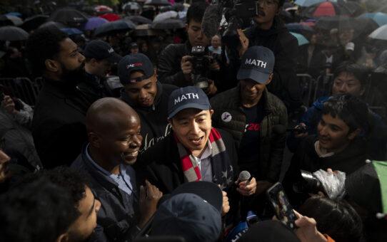 Andrew Yang announces run for New York City mayor