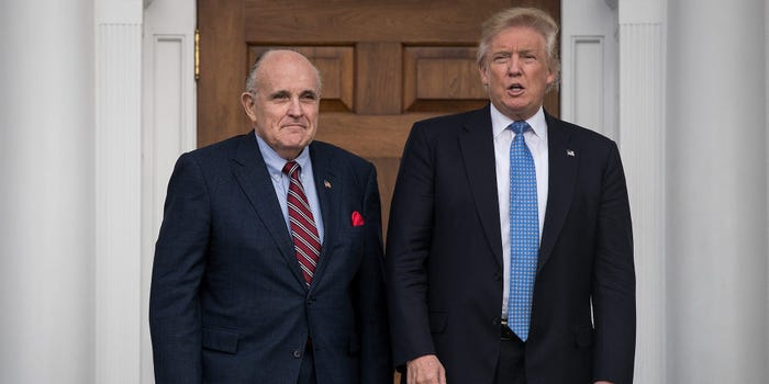 Trump has told staff not to pay Rudy Giuliani over irritation at being impeached again