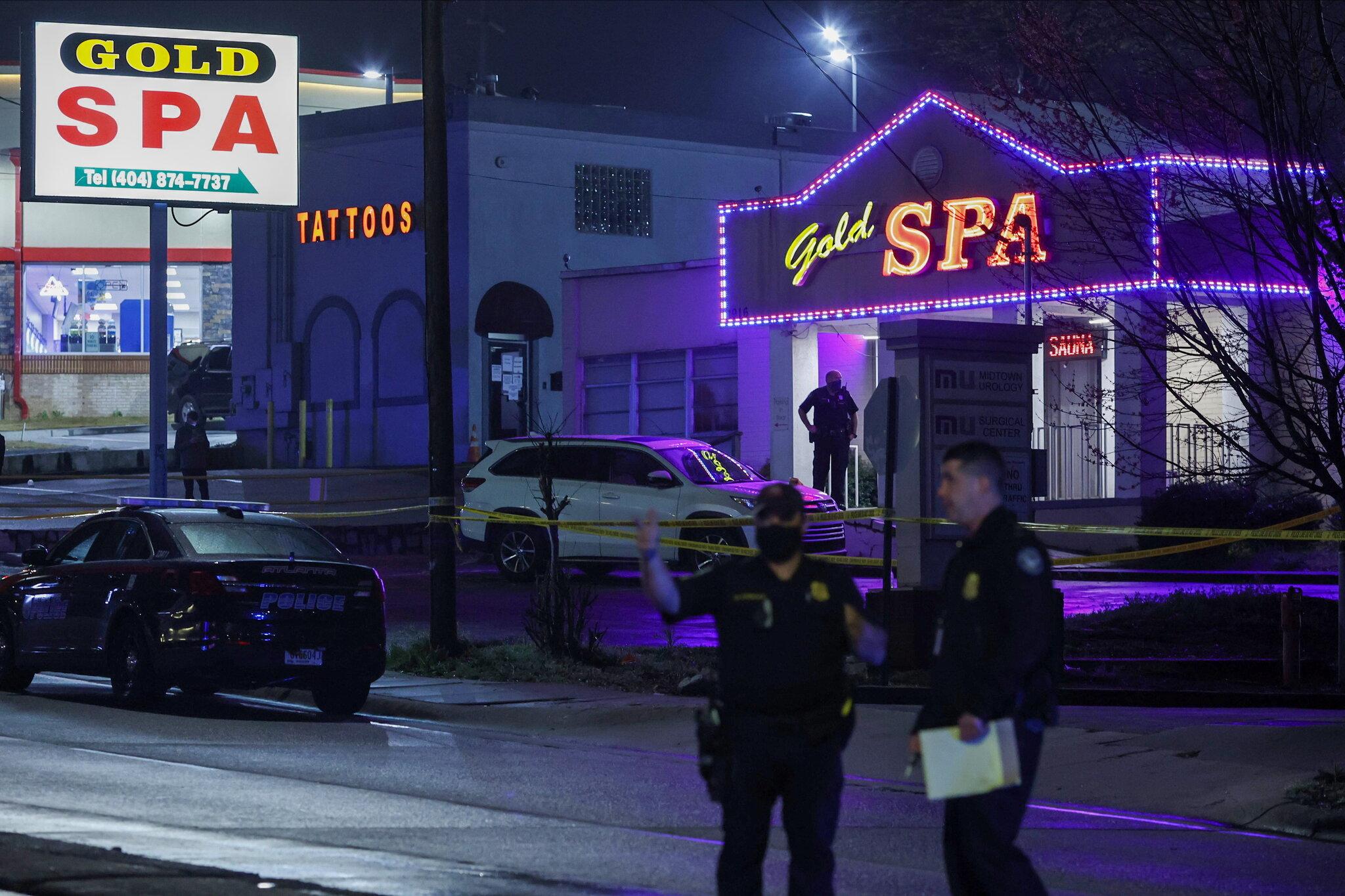 8 killed in shootings at 3 metro Atlanta spas. Police have 1 suspect in custody