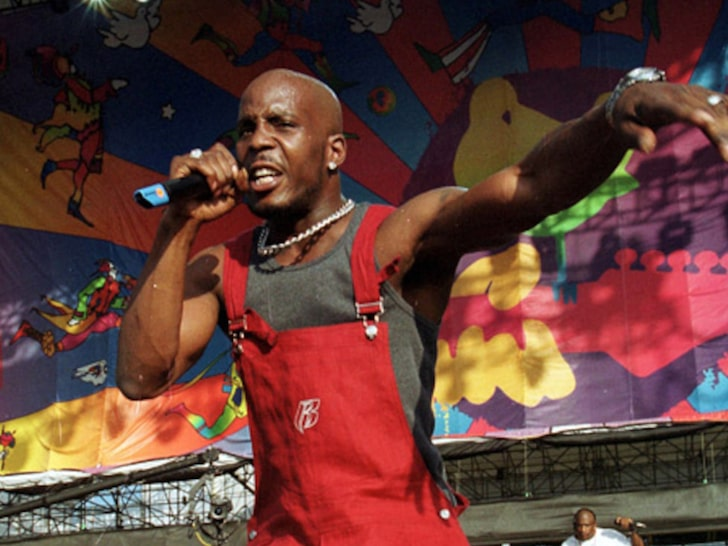 DMX OD'S AND IN GRAVE CONDITION