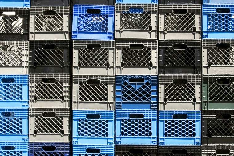 The milk crate challenge is exploding on social media. Some platforms are trying to remove it.
