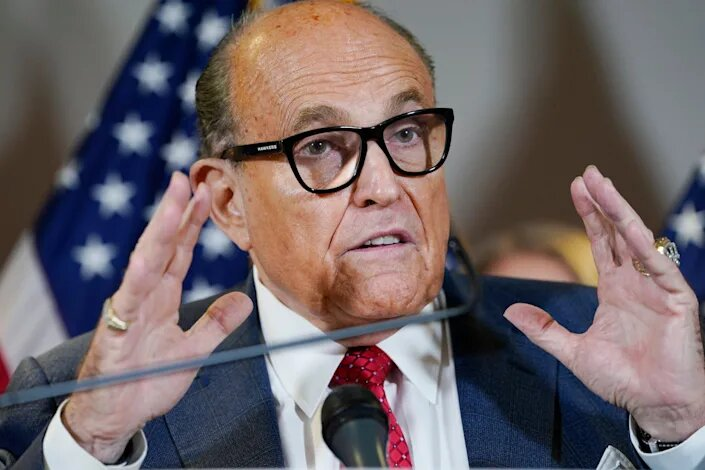 Giuliani says he's happy to go to jail, but proclaims he is innocent